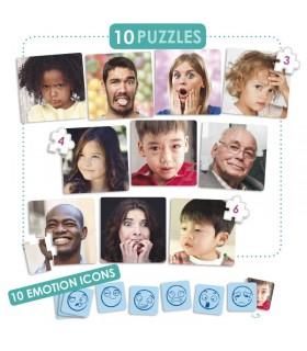 Emocje - puzzle