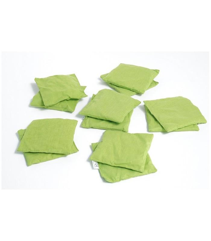Woreczki sensoryczne zielone
