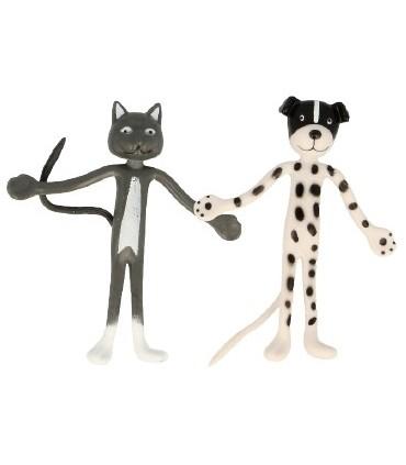 Wyginający się pies lub kot