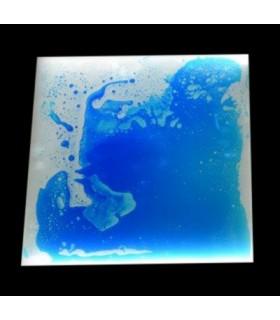 Podświetlany panel z cieczą (niebieski)