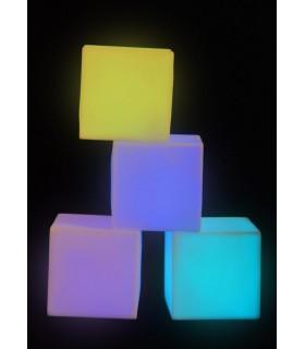 Zestaw 4 świecących klocków