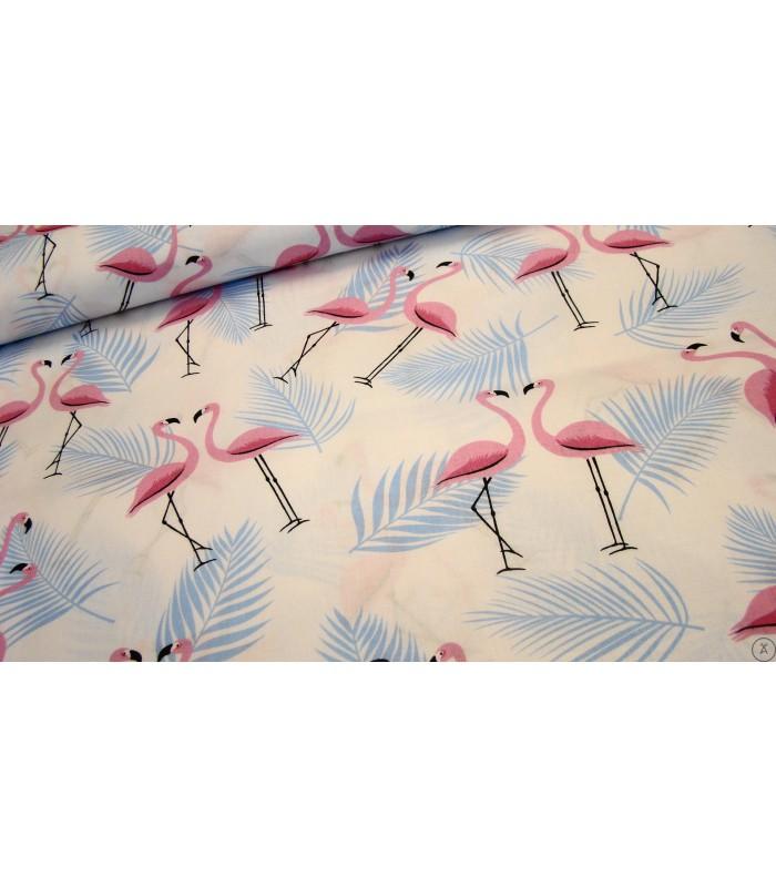 Kołdra obciążeniowa flamingi
