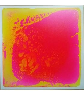 Sensoryczna podłoga z cieczą (różowo/żółta)