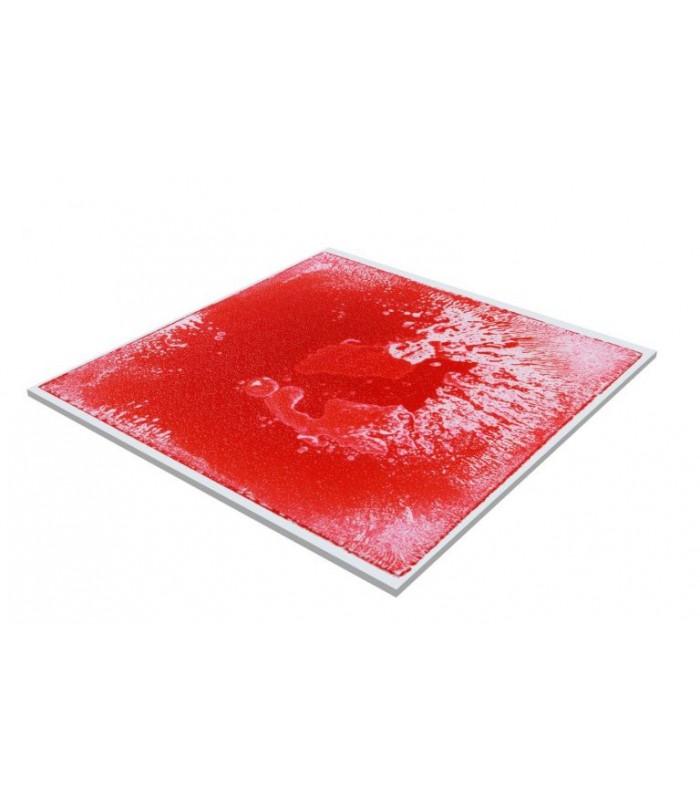 Sensoryczna podłoga z cieczą (czerwona)