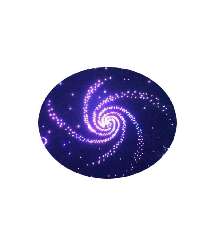 Światłowodowy zestaw sufitowy Galaktyka