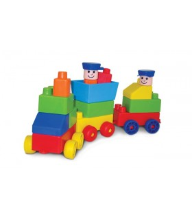 Edu-klocki pociąg