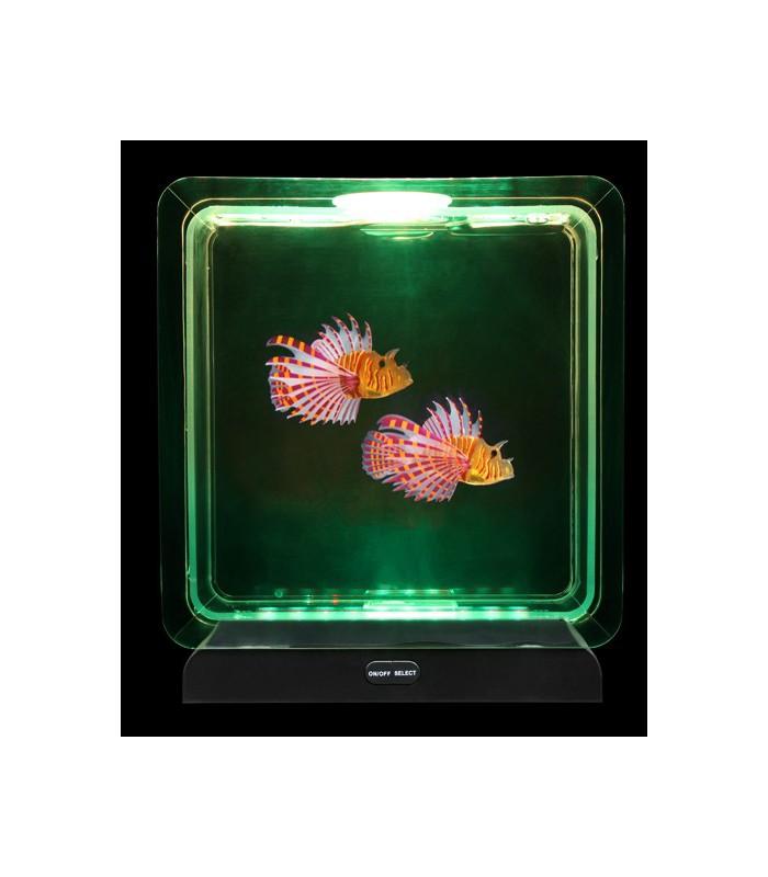 Akwarium z tropikalnymi rybkami