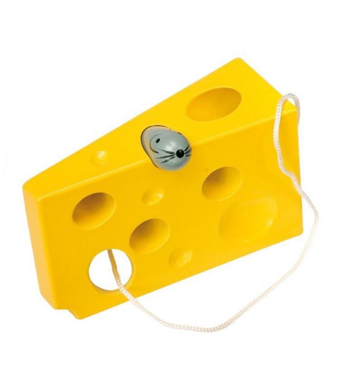 Ser żółty i mysz