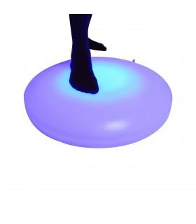 Świetlista, interaktywna podłoga