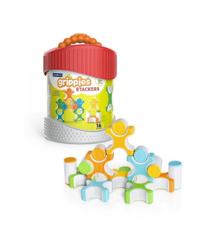 Magnetyczne klocki Grippies - piramidy