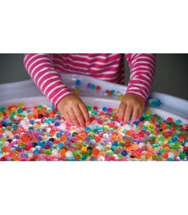 Sensoryczne, kolorowe kulki duże opakowanie