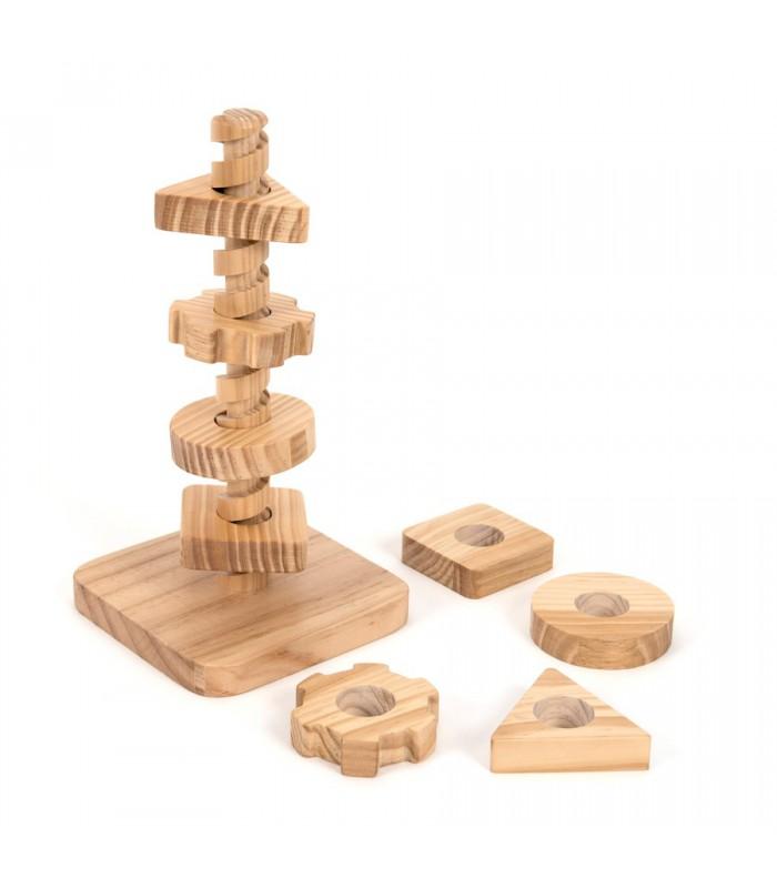 Wieża - obróć i dopasuj