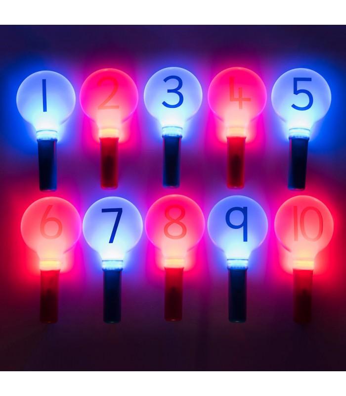 Świecące cyfry