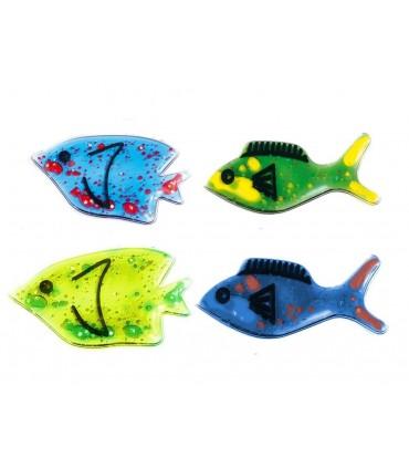 4 żelowe rybki