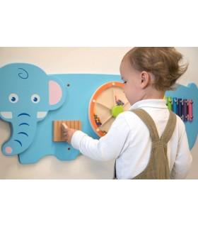Tablica manipulacyjna - słoń (ostatnia sztuka)