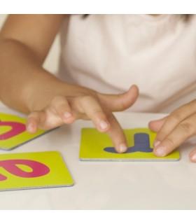 Sensoryczne karty - litery
