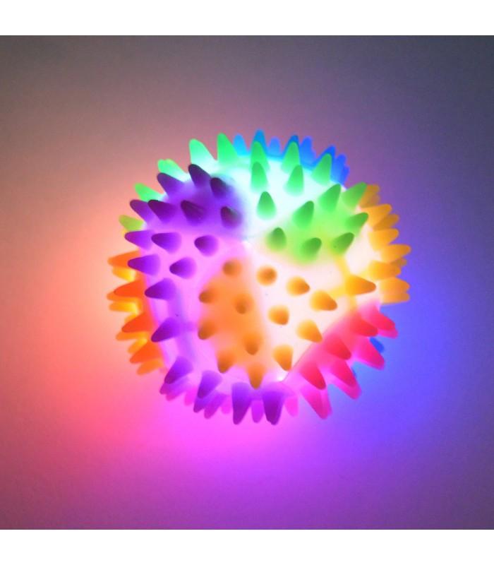 Świecąca piłka z kolcami