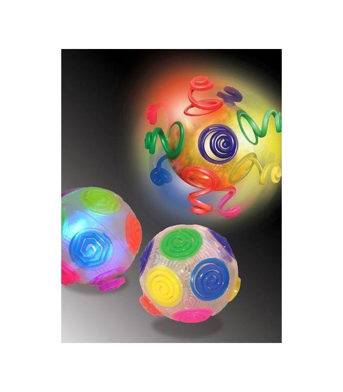 Szalona świecąca piłka