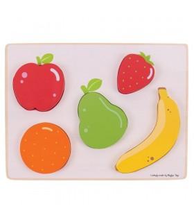 Układanka owoce