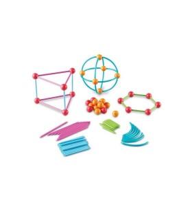 Zestaw do budowy geometrycznych kształtów