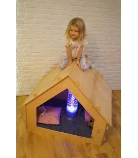 Domek drewniany, składany