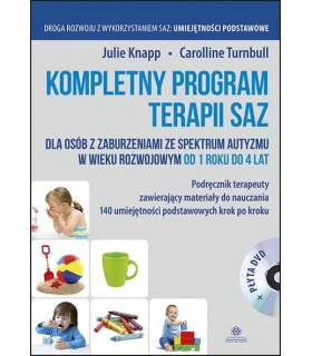 Kompletny program terapii SAZ 1-4 lat + DVD