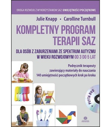 Kompletny program terapii SAZ 3-5 lat + DVD