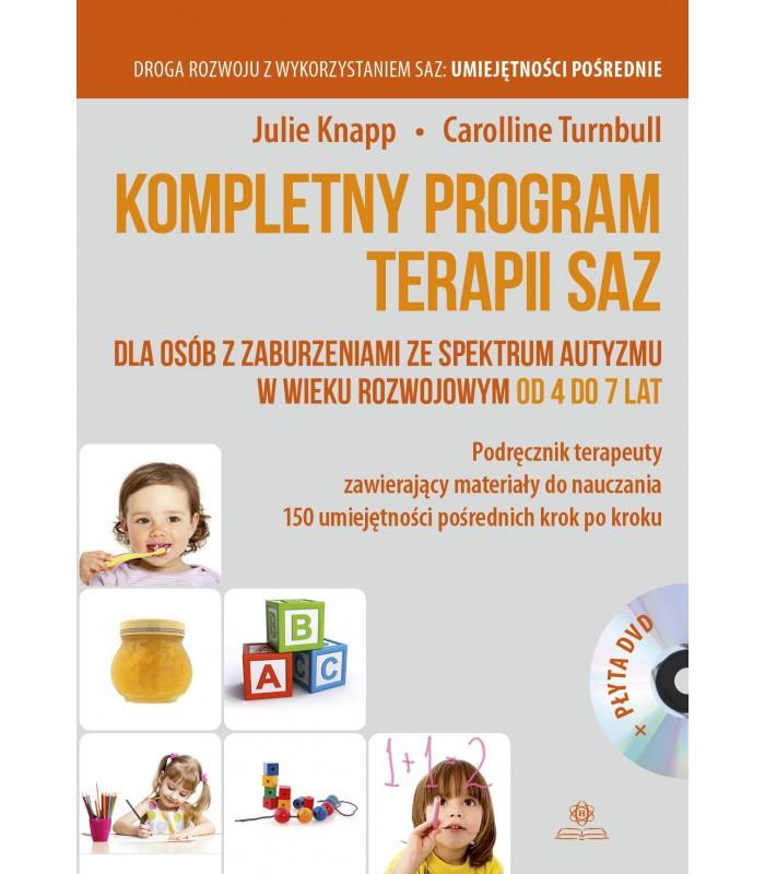 Kompletny program terapii SAZ 4-7 lat + DVD