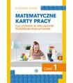 Matematyczne karty pracy. Część 1.