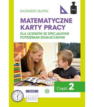 Matematyczne karty pracy. Część 2.
