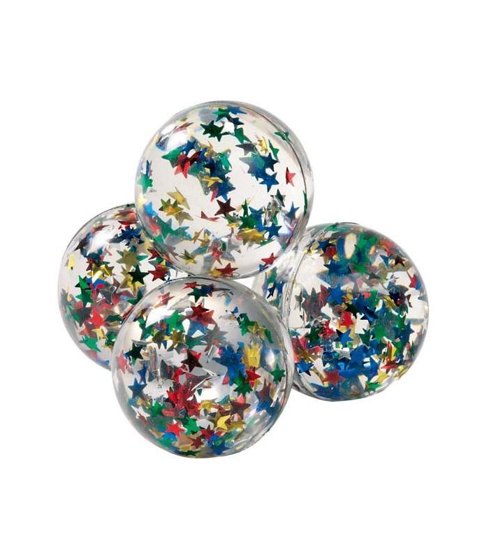 Piłka z gwiazdkami w środku