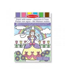 Wodne kolorowanki księżniczki