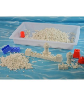 Zestaw piasek kinetyczny z foremkami 1kg