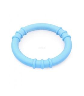 Gryzak logopedyczny ring błękitny