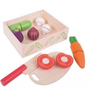 Pudełko warzyw do krojenia