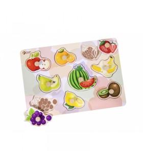Układanka Puzzle Pinezkowe Owoce