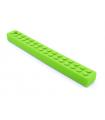 Duży gryzak logopedyczny klocek lego (zielony)