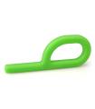 Gryzak logopedyczny zielony