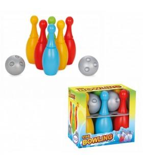 Kręgle dla Dzieci 6 szt. + 2 Piłki