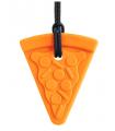 Gryzak/naszyjnik logopedyczny pizza pomarańczowy