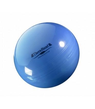 Piłka rehabilitacyjna 75 cm niebieska