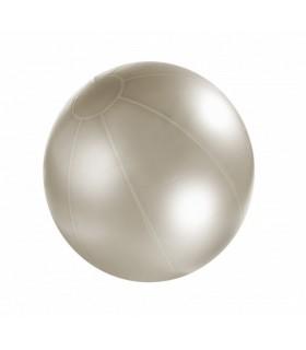 Piłka rehabilitacyjna 85 cm z ABS srebrna