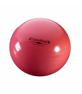 Piłka rehabilitacyjna 55 cm z ABS czerwona