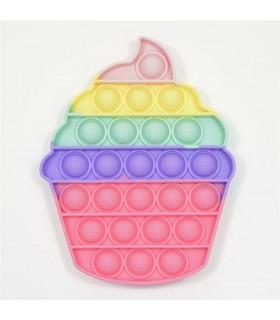 Push Bubble- pastelowa babeczka
