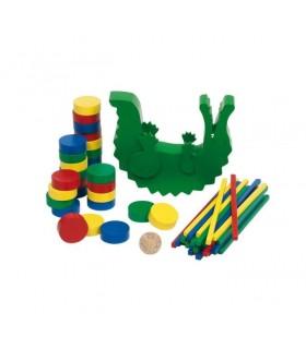 Balansujący krokodyl