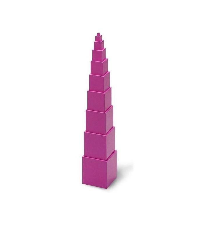 Różowa wieża