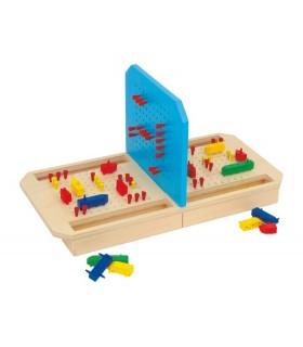 Drewniana gra w statki