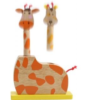 Wyskakujące żyrafie głowy