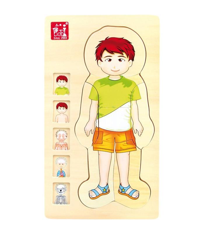 Puzzle Anatomia Chłopca