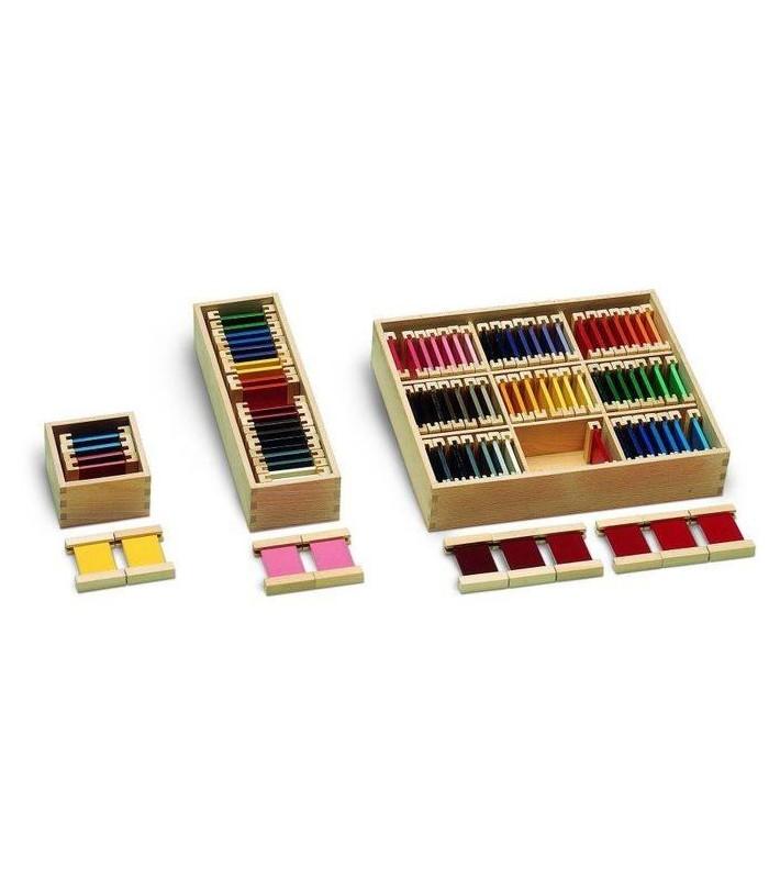 Zestaw kolorowe tabliczki